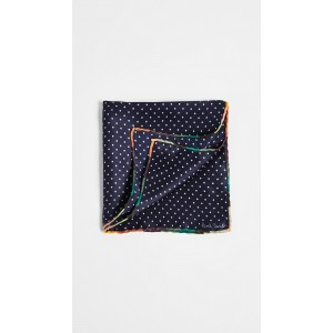 Artist Stripe Edge Pocket Square