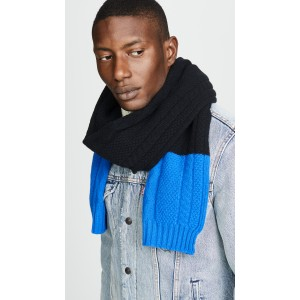 Cable Highlight Scarf