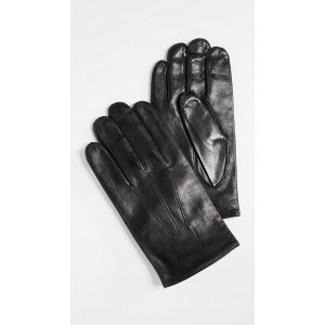 Plain Leather Gloves