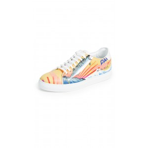 Mackeral Printed Bassom Sneakers