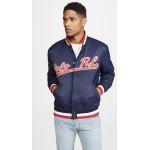 Cotton Nylon Baseball Jacket