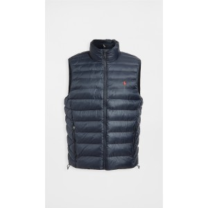 Packable Recycled Nylon Down Vest
