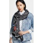 Love Birds Oblong Scarf
