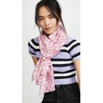 Love Stamp Oblong Scarf