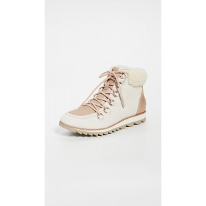 Harlow Lace Up Luxe Booties