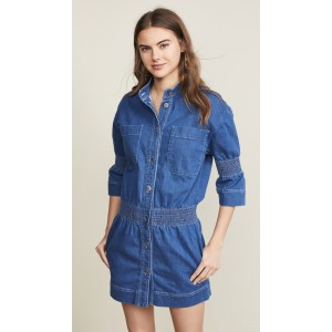 Denim Collared Dress