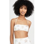 Studded Stars Bandeau Bikini Top