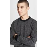 Speckled Herringbone Sweatshirt