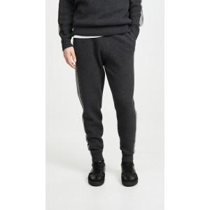Astine Wool Cashmere Track Pants