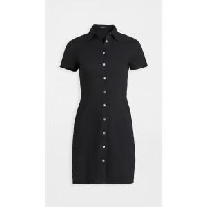 Short Sleeve Button Down Dress