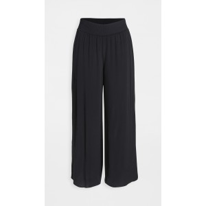 Ribbed Waistband Trousers