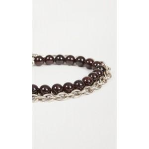 The Duncan Double Wrap Chain Bracelet