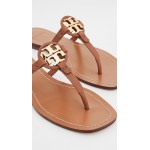 Mini Miller Leather Thong Sandals