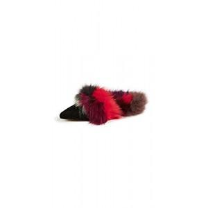Rebecca Minkoff Women's Roree Fur Mules