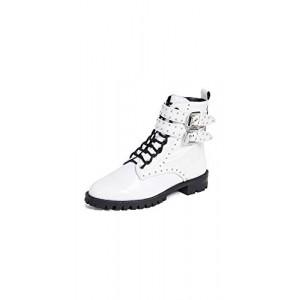 Rebecca Minkoff Women's Jaiden Stud Combat Boots