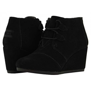 Toms Women's Avery Synthetic Suede Bootie