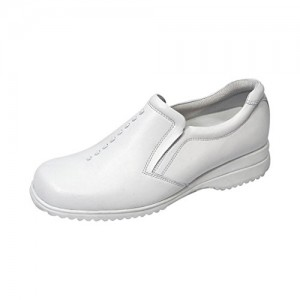 24 Hour Comfort  Molly Women Wide Width Classic Elegant Durable Cushioned Leather Slip On Shoes