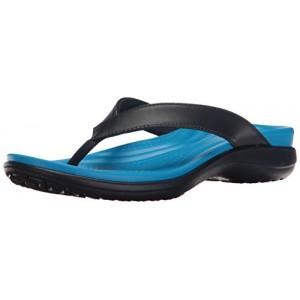 Crocs Women's Capri V Flip Flop Sandal, Casual Comfortable Lightweight Beach Shoe