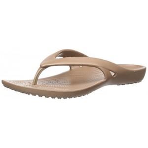 Crocs Women's Kadee II Flip Flop Sandal, Casual Lightweight Beach or Shower Shoe