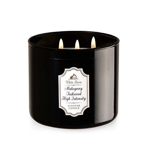 Bath & Body Works 3-Wick Candle in Mahogany Teakwood High Intensity
