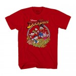 Disney Ducktales Retro Logo Scrooge Adult T-Shirt