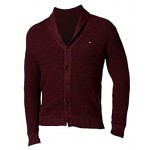 Tommy Hilfiger Men's Jeff Waffle-Knit Button-Down Sweater Cardigan