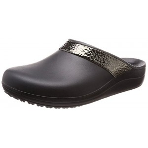 Crocs Women's Sloane Hammered Metallic Clog
