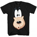 Disney Goofy Big Face Zoom Suprised Adult T-Shirt