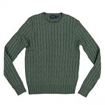Polo Ralph Lauren Womens Cable Knit Crew Neck Sweater