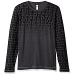 Diesel Men's Justin Logo Long Sleeve