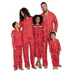 Disney Mickey Mouse Christmas Holiday Family Sleepwear Pajamas Dad Mom Kid Baby