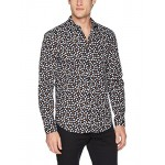 Theory Men's Iriving Flora Print Long Sleeve Woven