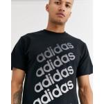 adidas Originals t-shirt with ombre logo black