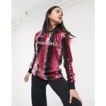 adidas Originals x Anna Isoniemi sequin soccer shirt in in pink