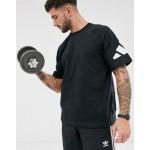 adidas Training heavy t-shirt in black