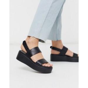 ALDO Agrerinia flatform sandal in black