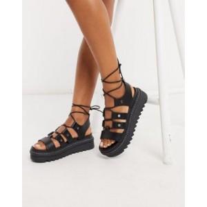 ALDO Dasdez gilly strapping chunky sandals in black