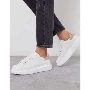 ALDO Dazzle flatform sneaker with rhinestone trim