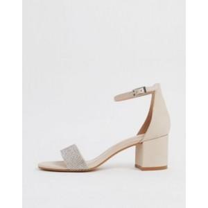 ALDO Gladoniel embellished heeled sandal in beige