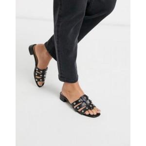 ALDO Studly kitten heel mule sandal with studs