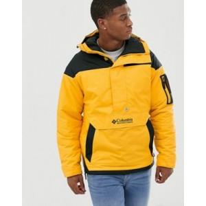 Columbia Challenger pullover jacket in orange