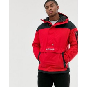 Columbia Challenger pullover jacket in red