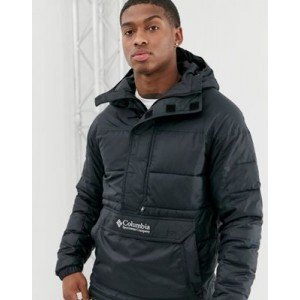 Columbia Columbia Lodge pullover jacket in black