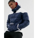 Columbia Columbia Lodge pullover jacket in navy