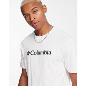 Columbia CSC basic logo t-shirt in white