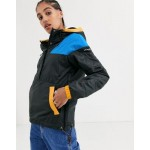 Columbia Lodge pullover jacket in black