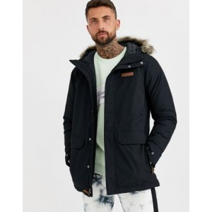 Columbia Marquam Peak parka jacket in black