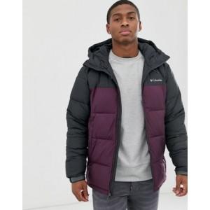 Columbia Pike Lake hooded jacket in purple