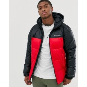 Columbia Pike Lake hooded jacket in red