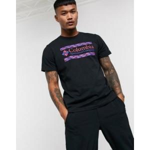 Columbia Rapid Ridge graphic t-shirt in black